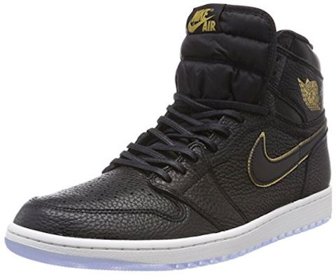 Nike Air Jordan 1 Retro High OG Shoe - Black Image